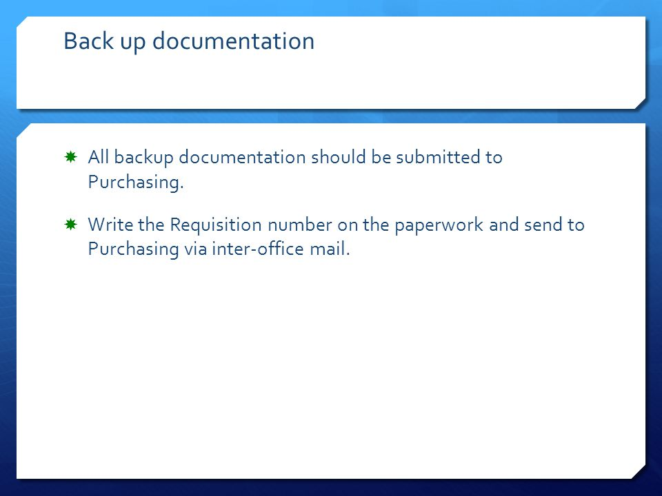 After you have approved the requisition, this is the message that will appear.