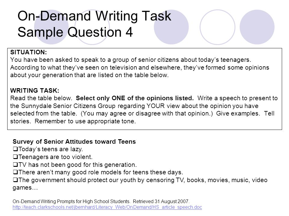writing prompts for high schoolers Writing prompts, creative writing prompts, expository writing prompts, writing prompt[/keywords] need an idea to help you get started writing you'll find hundreds of fun writing prompts here - perfect for beginning a new novel or short story, or simply giving your writing muscle a workout.
