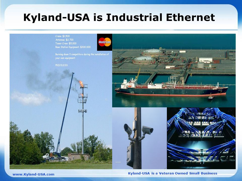 Kyland-USA is a Veteran Owned Small Business   Kyland-USA is Industrial Ethernet