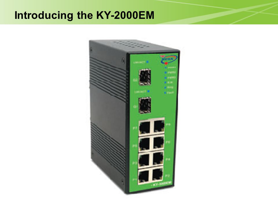 Introducing the KY-2000EM