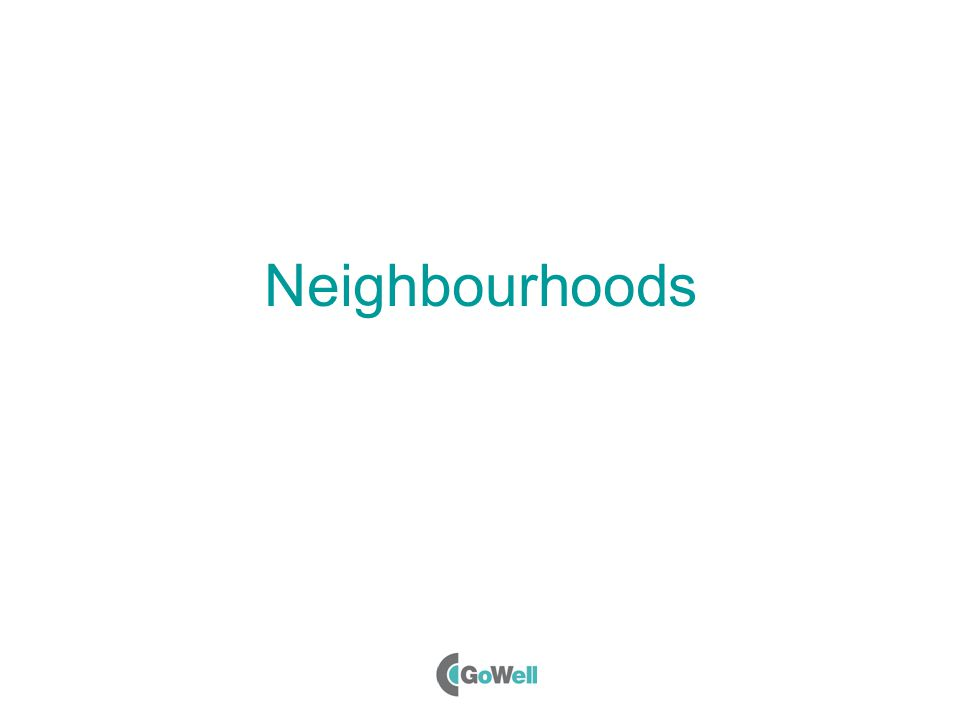 Neighbourhoods
