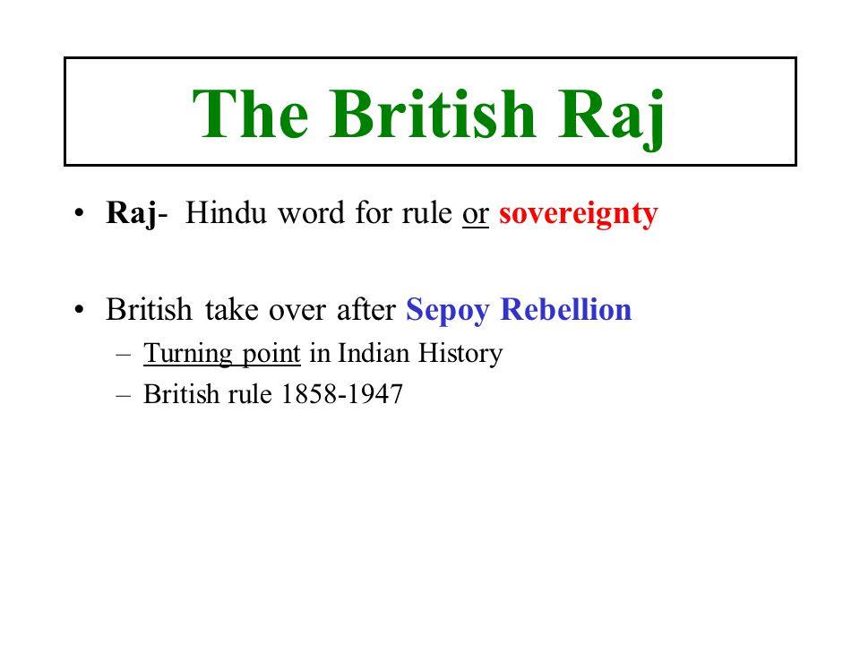 british raj in india summary