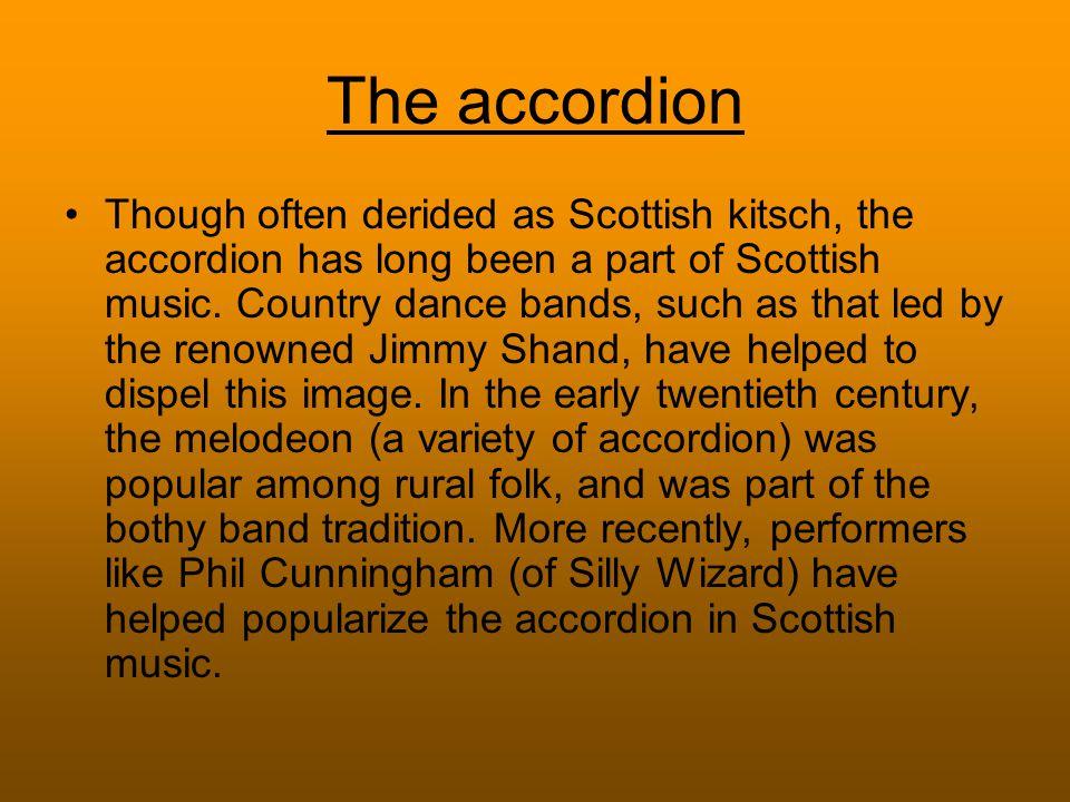 Scottish Music By David Wuthier  The scottish instruments