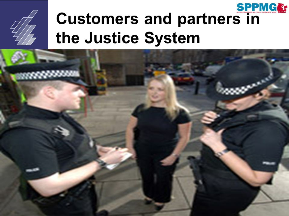 scottish court service Customers and partners in the Justice System
