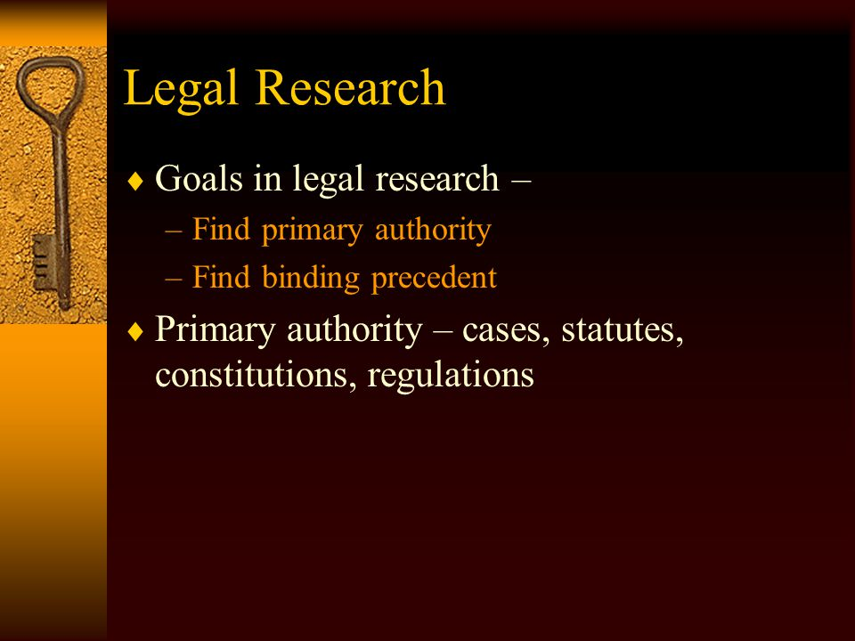 Legal Research: Finding the Law: Using Case Digests © Professor N. Mathis Rutledge