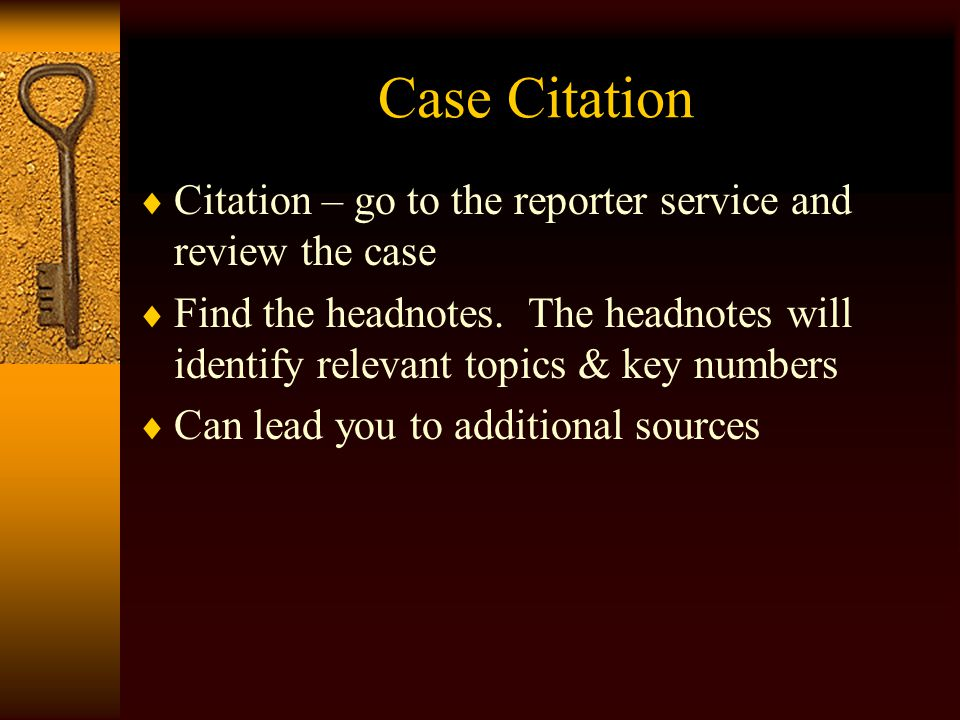Where to Start.  It depends on what you know.  Do you have a case name or citation.