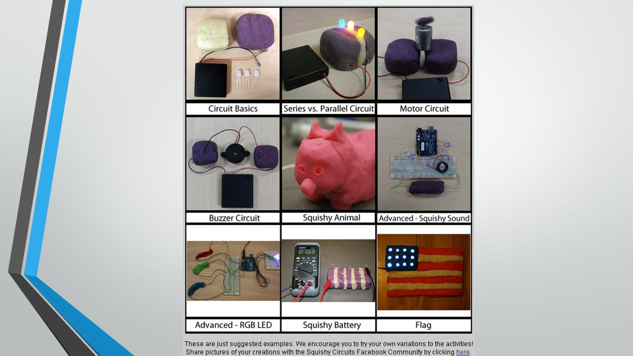 From Squishy Circuits To Robotics Using Play Dough Build And Make 21 Additional Tips Dont Connect 9v Battery Directly Lec The Led May Burn Out Or Pop Mash Two Types Of Into Each Other This Makes It