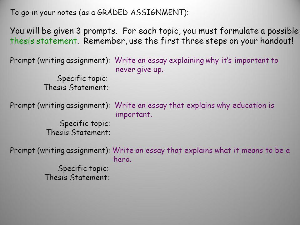 essay writing to discuss khan academy