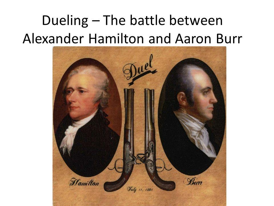 alexander hamilton vs burr