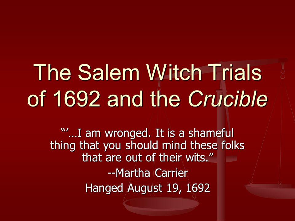 salem witch trials martha carrier