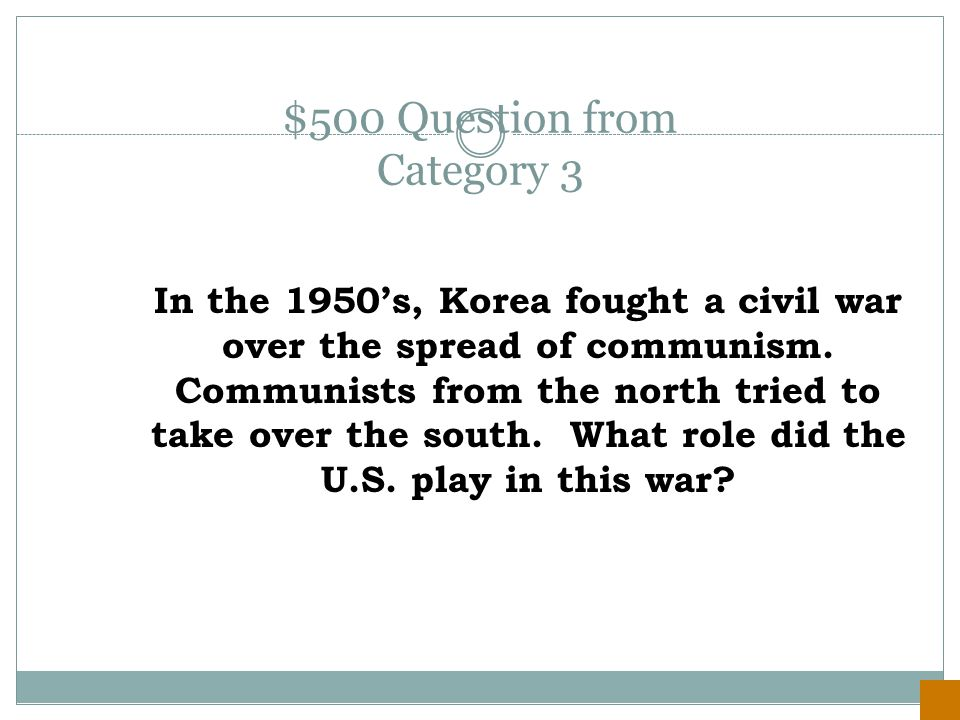 $400 Answer from Category 3 The Berlin Airlift was necessary because the Soviets had set up a blockade to stop all food and supplies from getting into West Berlin in an effort to make them communism.