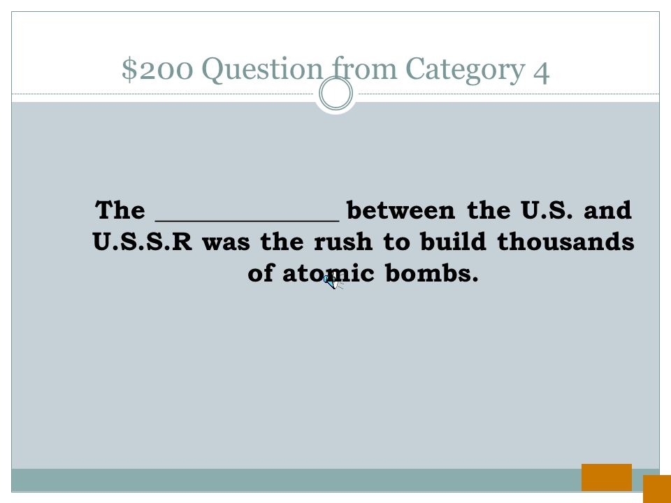 $100 Answer from Category 4 To keep East Germans from entering West Germany.