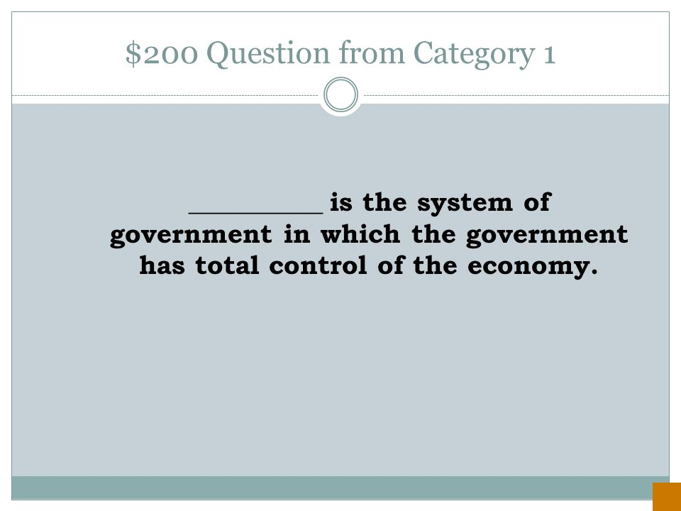 $100 Answer from Category 1 a Cold War