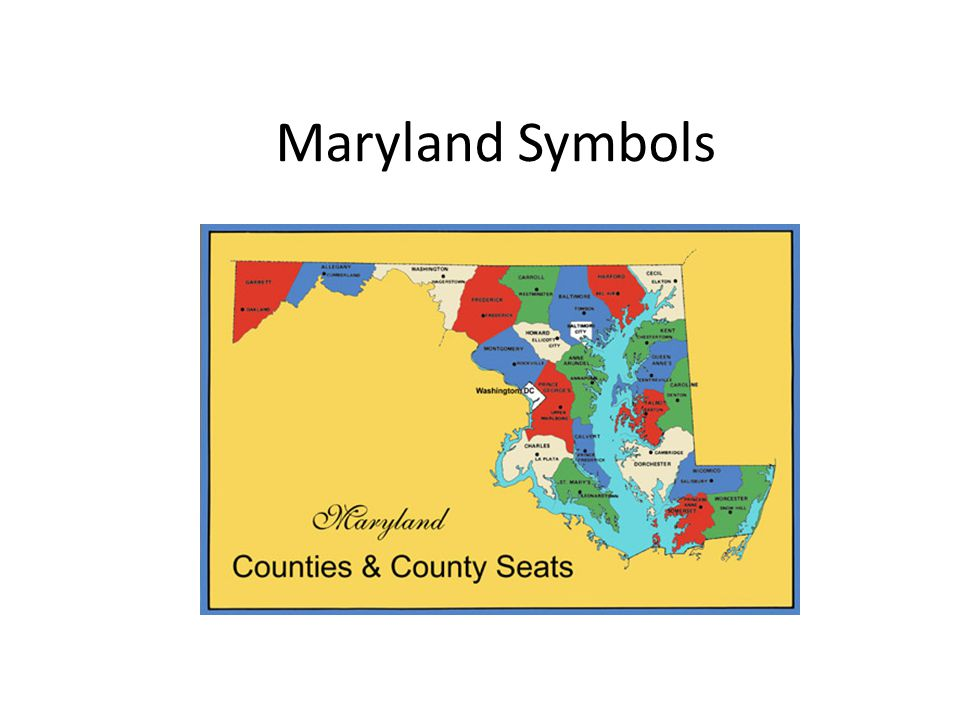 Maryland Symbols State Flag Black And Gold Quarters The Arms Of