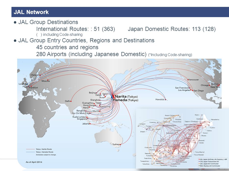 Focus on Asia Workshop February 26, 2015 Japan Airlines. - ppt download