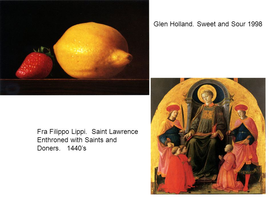 Glen Holland. Sweet and Sour 1998 Fra Filippo Lippi.