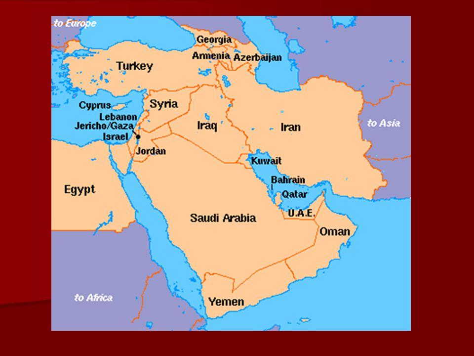 Middle East Map Sinai Peninsula.Southwest Asia By Mr Washington Vocabulary Middle East The