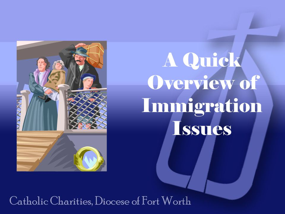 A Quick Overview of Immigration Issues