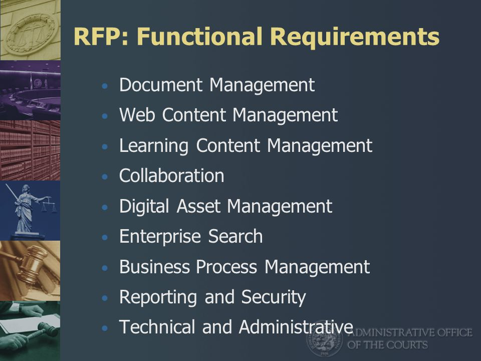 Rfp Content Management