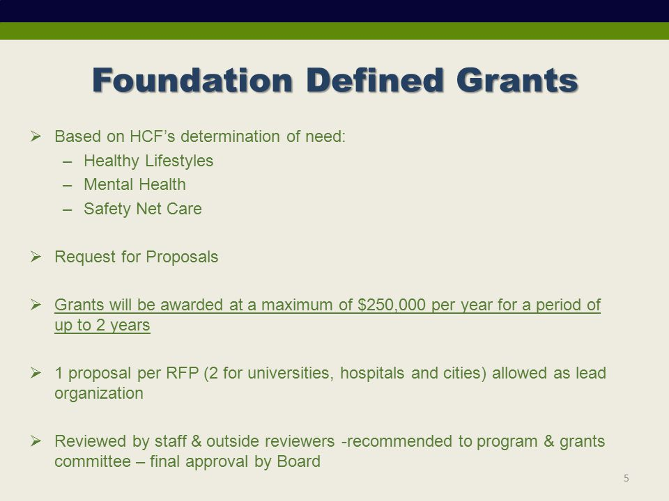 December 2, 2011 Pre-Proposal Conference HEALTHY LIFESTYLES RFP ppt