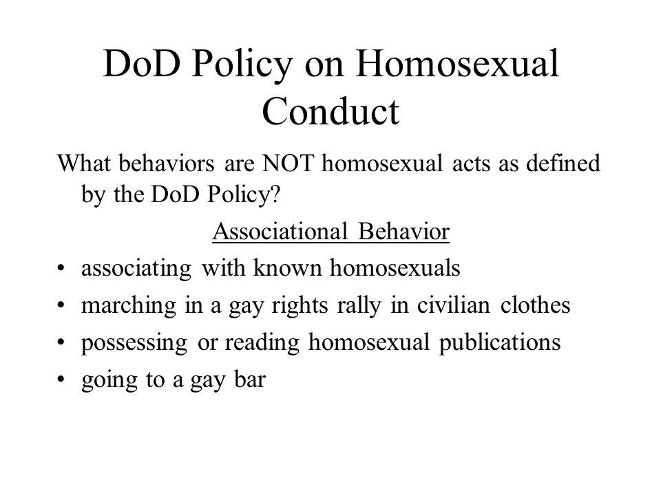 Define homosexual acts