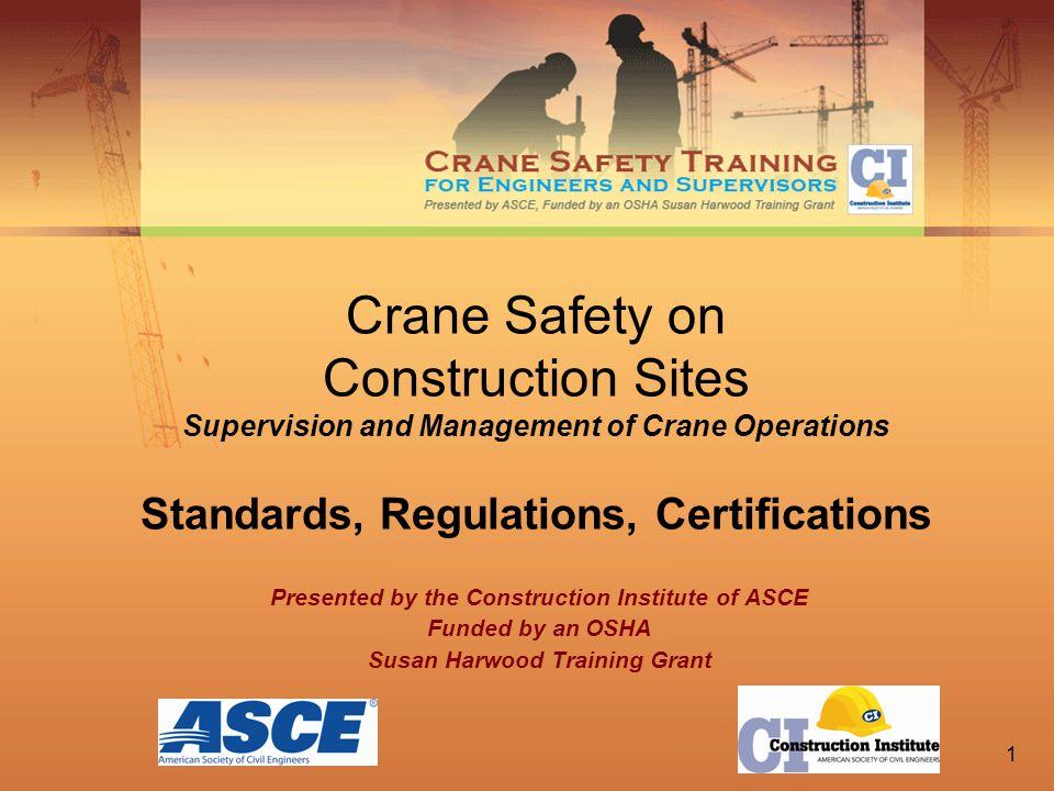 1 Crane Safety on Construction Sites Supervision and Management of ...