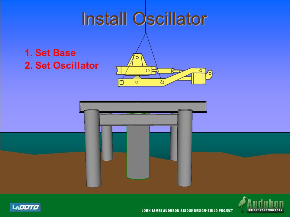 Install Oscillator 1. Set Base