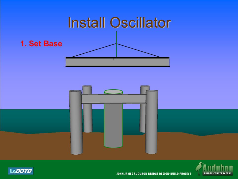 Install Oscillator Layout/Place Oscillator Base And Lock Down Place Oscillator