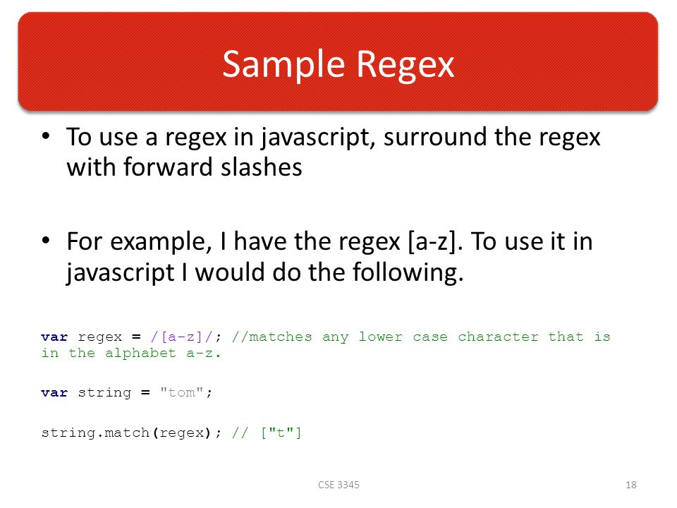 Madison : Javascript regex match decimal point