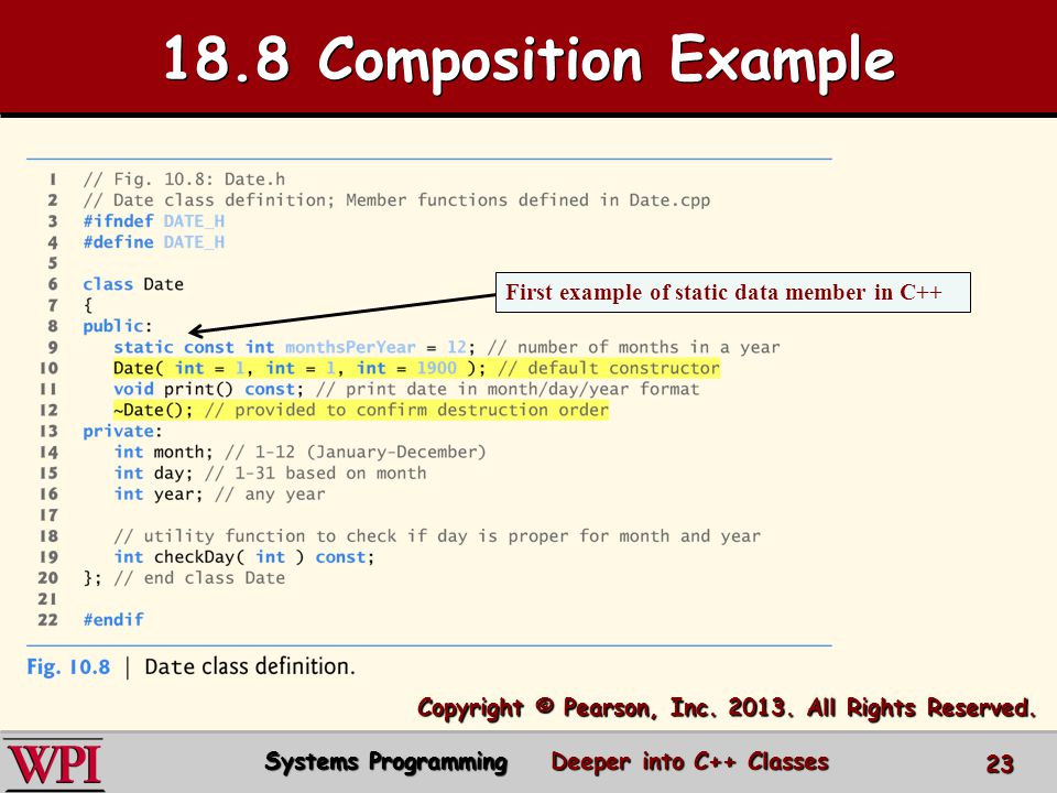 18.8 Composition Example Copyright © Pearson, Inc.