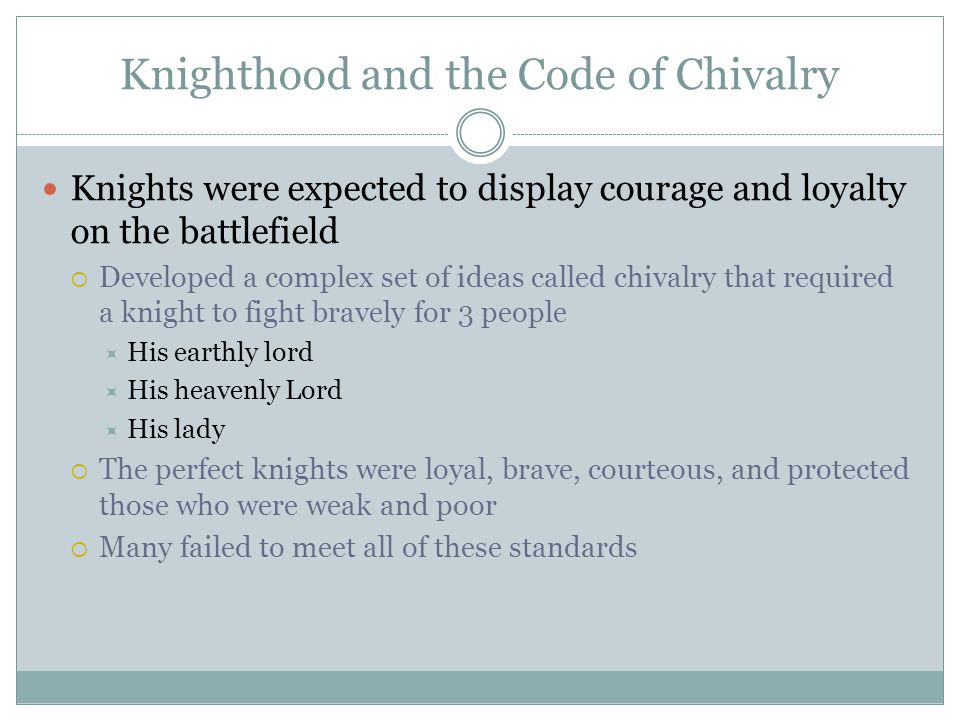 MR  MORRIS WORLD HISTORY The Age of Chivalry  Key Terms Ch
