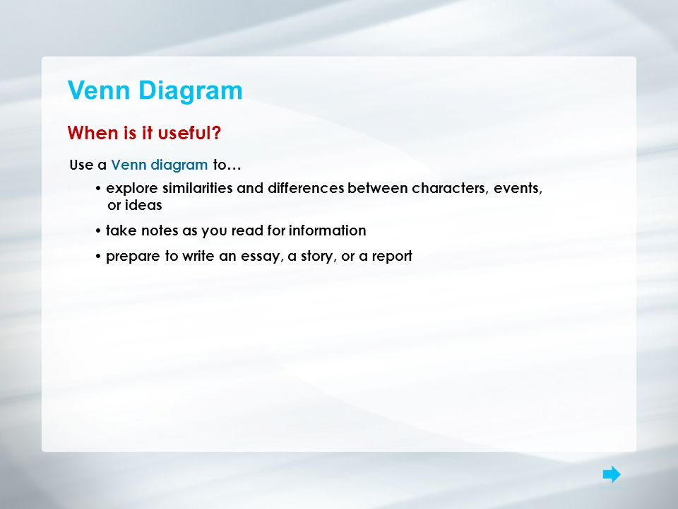 Venn diagram topic similarities examining similarities and 3 venn ccuart Image collections