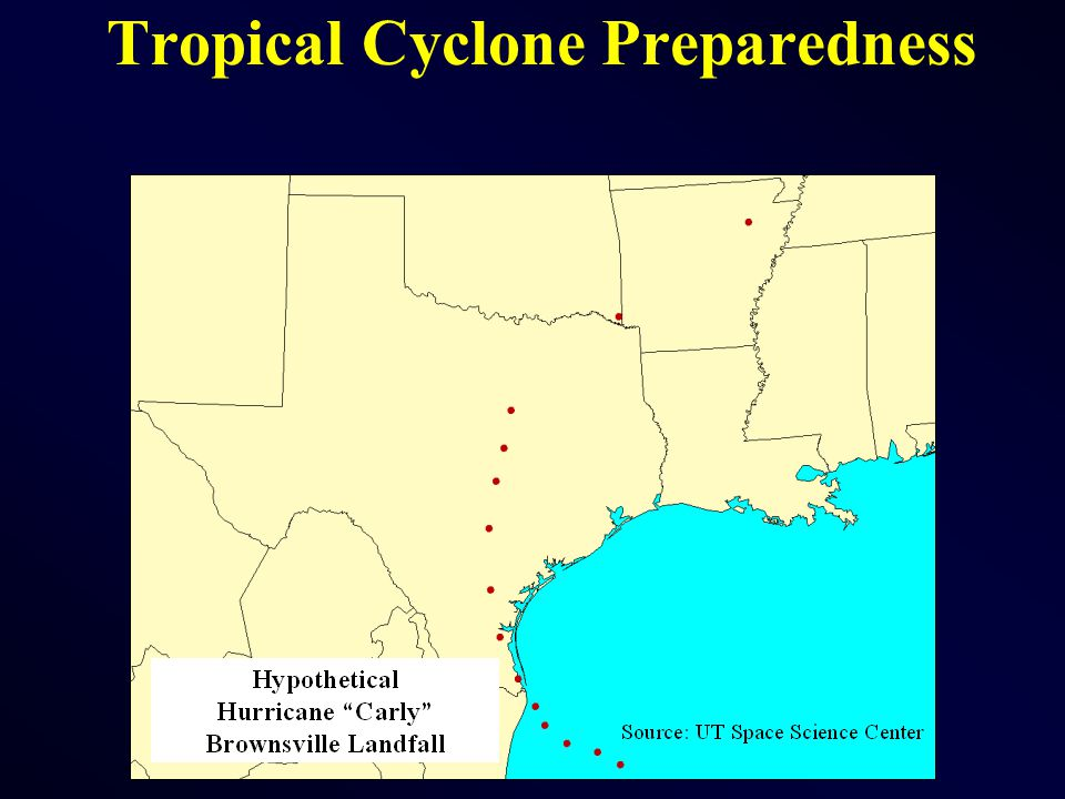 Tropical Cyclone Preparedness
