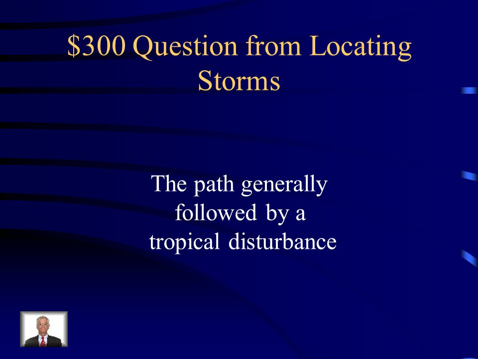 $200 Answer from Locating Storms What is longitude
