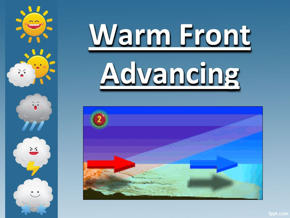 Warm Front Advancing