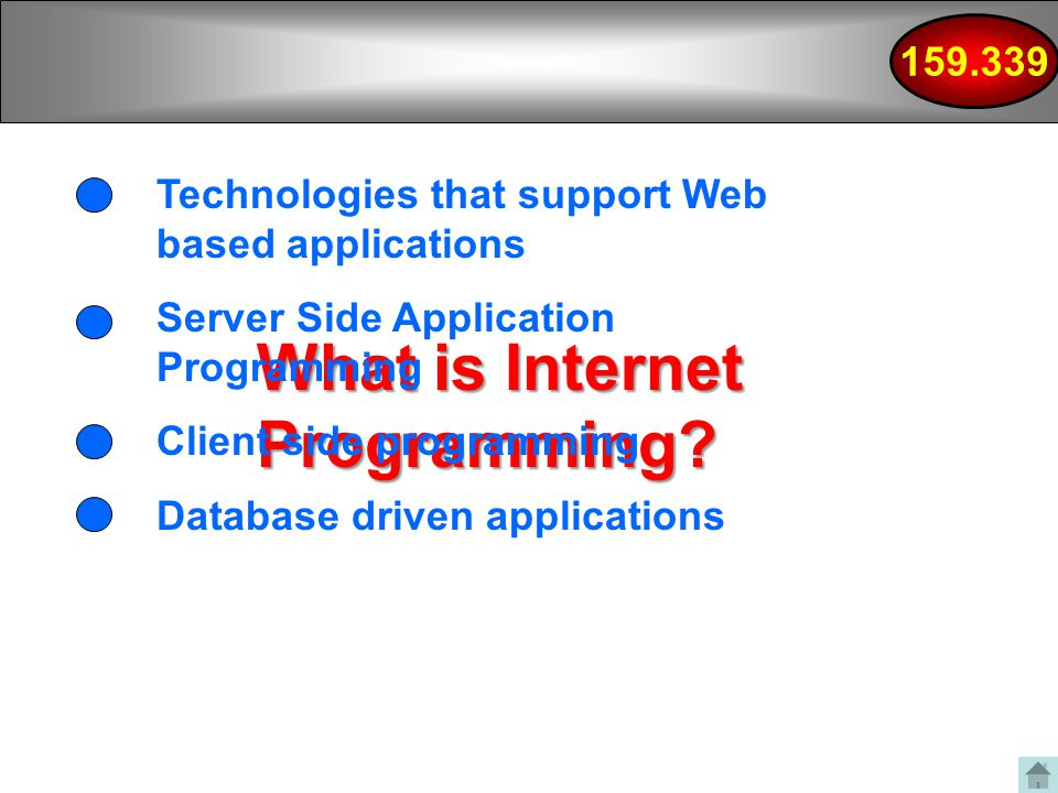 What is Internet Programming.