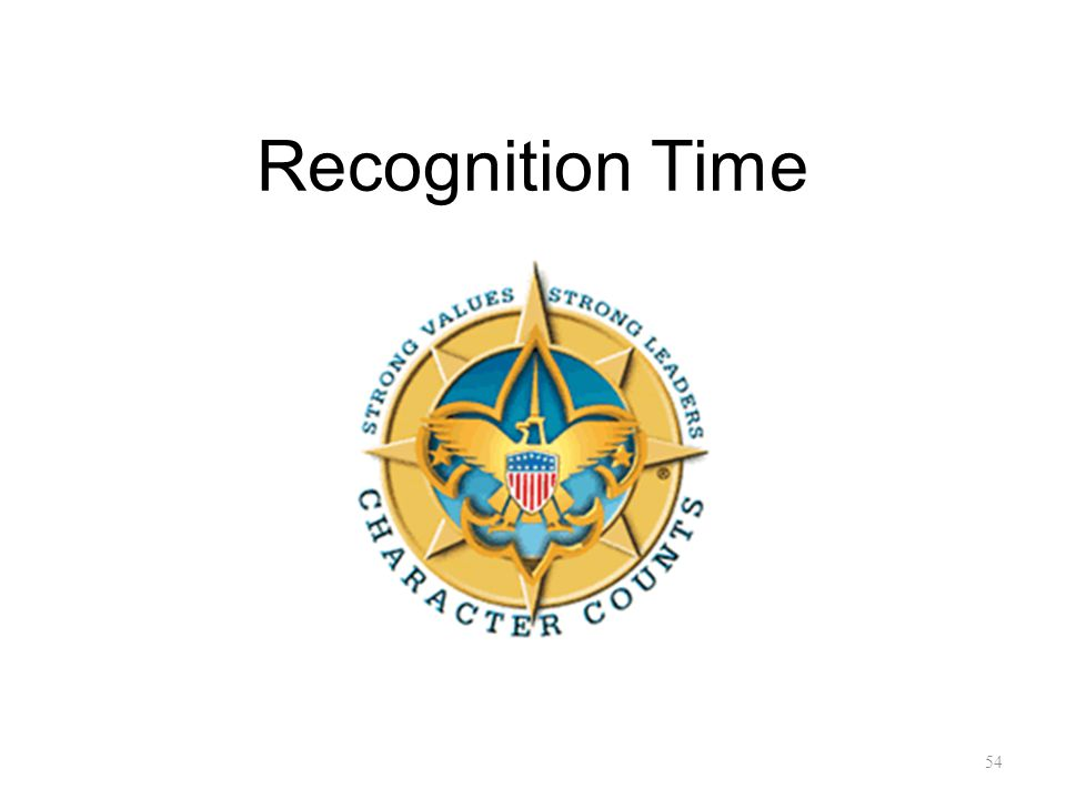 Recognition Time 54