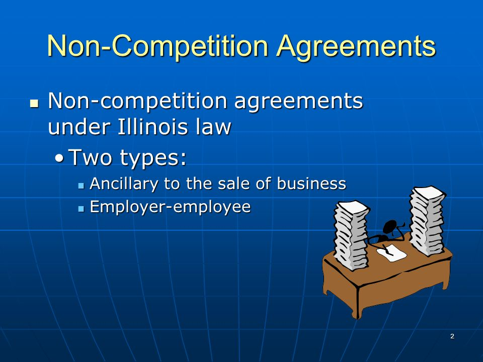 1 National Business Institute Non Competition Agreement Enforcement