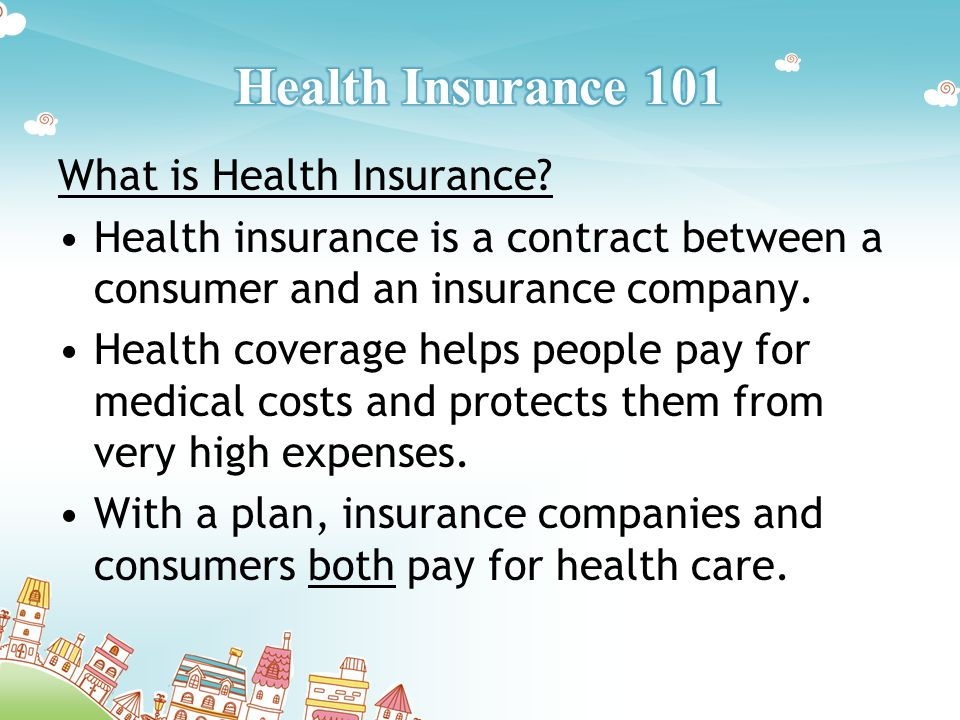 What is Health Insurance.