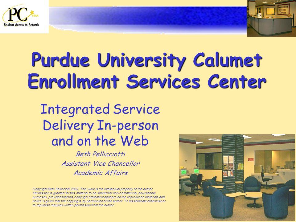 various colors 3fb70 214b9 Purdue University Calumet Enrollment Services Center ...