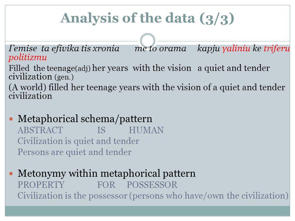 DR PARASKEVI THOMOU UNIVERSITY OF CRETE Metonymy within