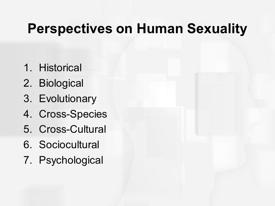 Biological perspective sexuality