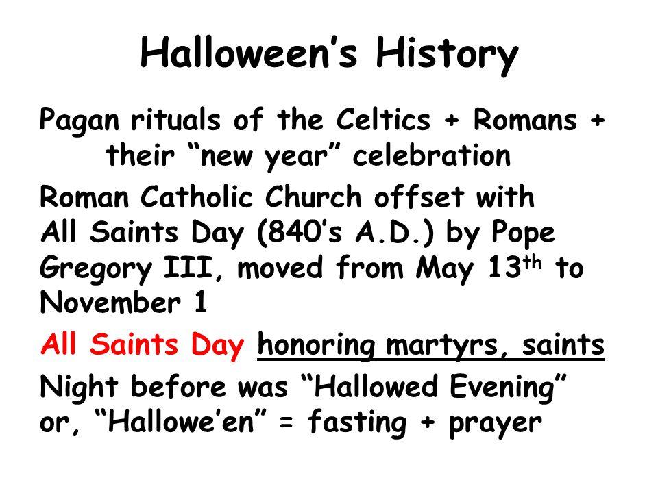"A Bible Response to Halloween"" 1 John 4:4. Halloween\'s History Pagan ..."