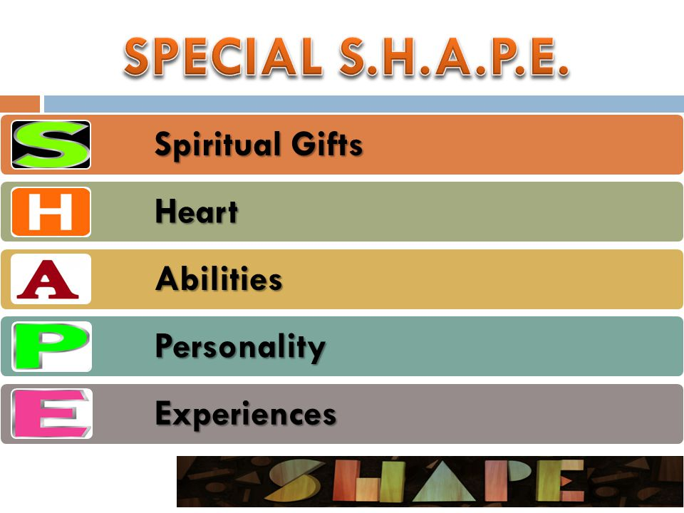 Spiritual Gifts Heart Abilities Personality Experiences
