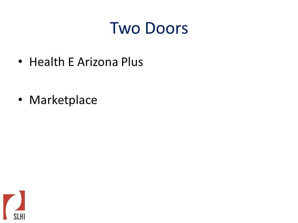 Two Doors Health E Arizona Plus Marketplace