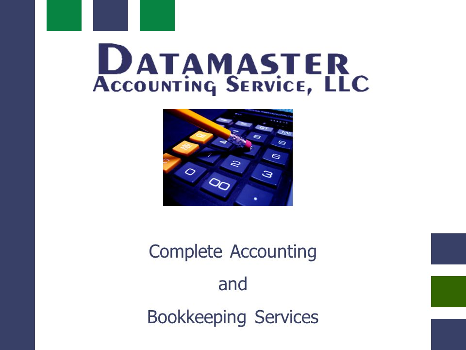 Complete Accounting and Bookkeeping Services Success