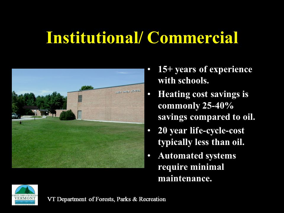 Institutional/ Commercial 15+ years of experience with schools.