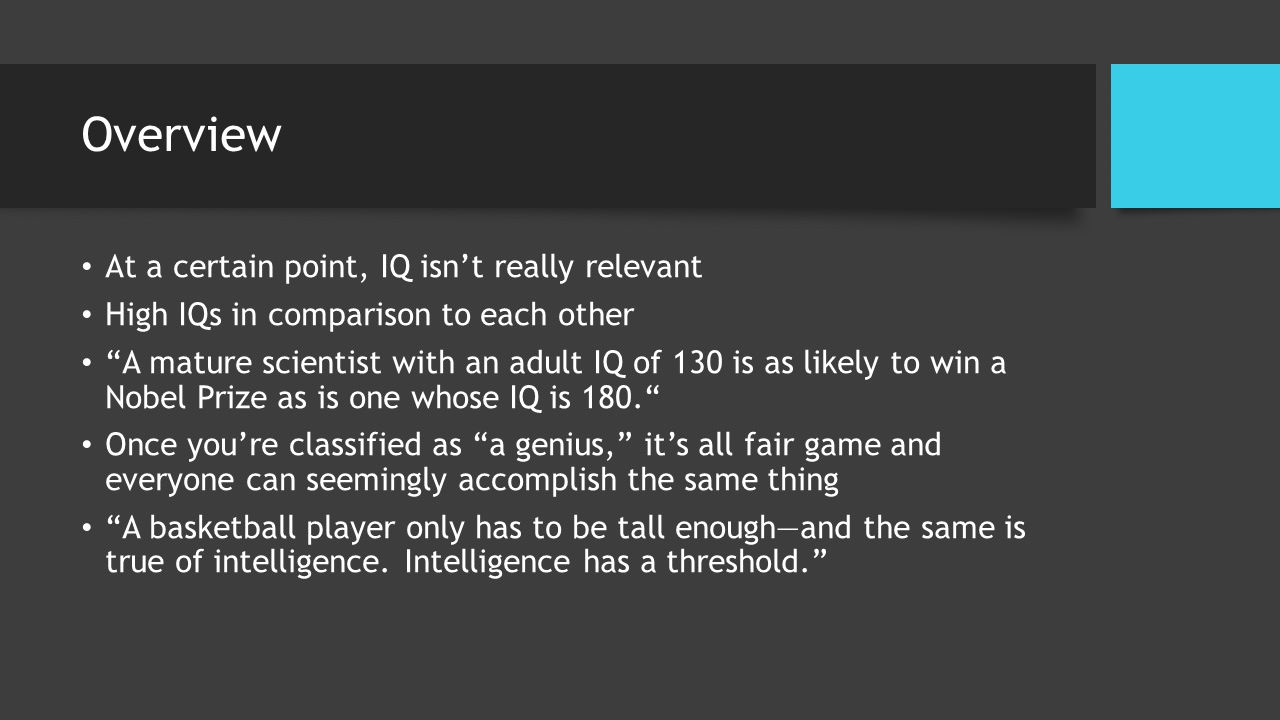the trouble with geniuses part 2