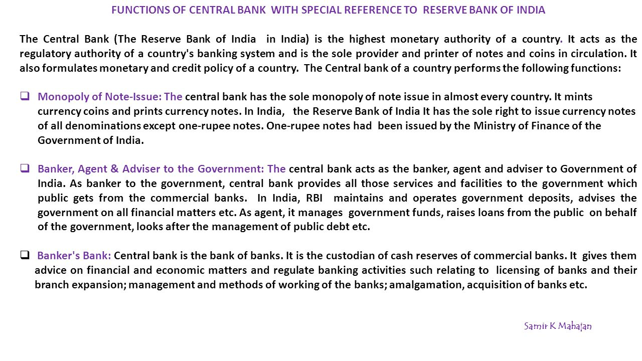 Functions of commercial banks and their significance. The main activities of commercial banks