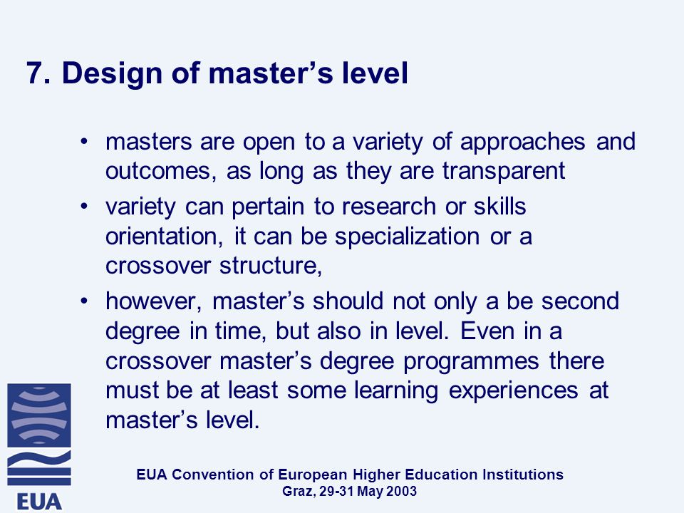 EUA Convention of European Higher Education Institutions Graz, May